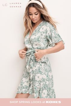 Turn on the charm in this women's LC Lauren Conrad dress.Women's # outfits for summer Formal Wedding Guests, Holiday Party Dresses, Spring Looks, Lc Lauren Conrad, Coats For Women, Cute Outfits, Beautiful Outfits, Stylish Outfits, Fashion Outfits
