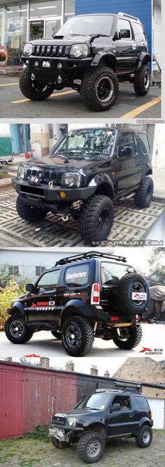 Suzuki Jimny ⓒⓞⓛⓛⓔⓒⓣⓘⓥⓔ Japanese Suzuki Motors has been manufacturing SUV Jimny… Jimny 4x4, Jimny Suzuki, Kei Car, Best 4x4, Cool Vans, Suzuki Swift, Expedition Vehicle, Mini Trucks, Amazing Cars