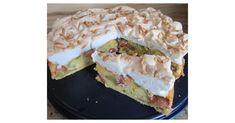 Rhabarber-Baiserkuchen mit Mandelsplittern, ein Rezept der Kategorie Backen süß. Mehr Thermomix ® Rezepte auf www.rezeptwelt.de