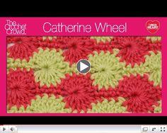 Crochet Catherine Wheel Stitch