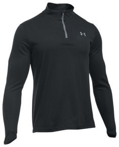 "Under Armour ColdGear Infrared Lightweight 1/4-Zip for Men - Black/Steel - XL: """"""The Under Armour… #Fishing #Boating #Hunting #Camping"