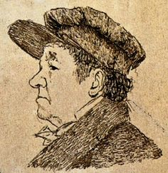 Goya. Self portrait.