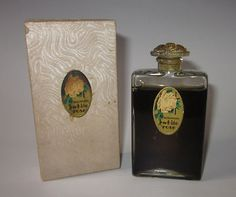 """The frangrance of the last Tsarina Rare Vintage Atkinson's """"White Rose"""" Full Pure Old Original Perfume Bottle Antique Perfume Bottles, Vintage Bottles, Tiny Treasures, Colour Board, Glass Design, White Roses, Flask, Pure Products, Engagement"""