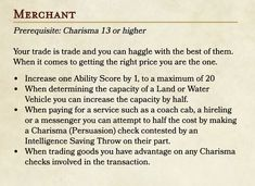 A feat for greedy adventurers with a retirement plan : UnearthedArcana Dungeons And Dragons Classes, Dungeons And Dragons Homebrew, Dnd Feats, Dnd Backgrounds, Dnd Dragons, Dnd Races, Dnd Classes, Writing Corner, Dnd Characters