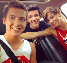 Dillon Rupp, Aaron Carpenter and Taylor Caniff, MagCon Boys