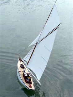 This aft sail configuration looks perfect for big red. Needs a single, larger jib sail. No bowsprit.