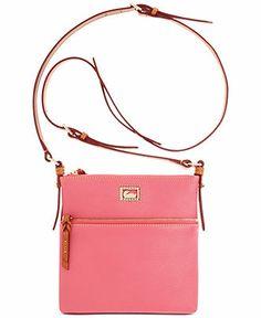 Dooney Bourke Handbag Dillen Ii Letter Carrier Handbags Accessories Macy S