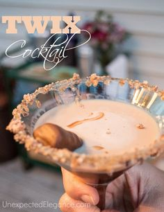Recipe for TWIX cocktail...absolutely DELICIOUS!!