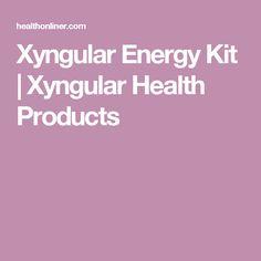 96cc1aa210f Xyngular Energy Kit | Xyngular Health Products Nivel Energético, Productos  Para La Salud, Kit