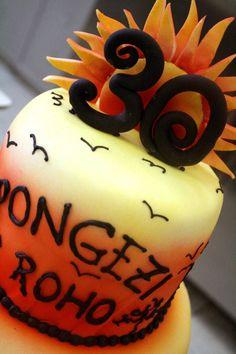 #Africa #torta della pasticceria La Mimosa di http://www.simocakedesigner.it
