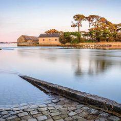 Île à marée haute et presqu'île à marée basse, le charme de Berder à…