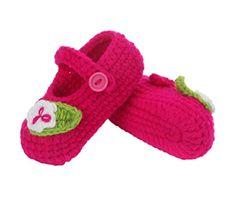 Smile YKK 1 Paar One Size 11cm Baby Unisex süße Strick Strickschuh klein Schuh - http://on-line-kaufen.de/smile-ykk/smile-ykk-1-paar-one-size-11cm-baby-unisex-suesse-2