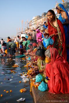 The Ganges river in India! Its such an amazing and holy place! I am so blessed to have gone here! Although I was to young and immature to understand it then I know now how holy this place really is.