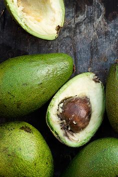 Avocados! High soluble fiber, heart-healthy fats, and a surprisingly delicious addition to smoothies!