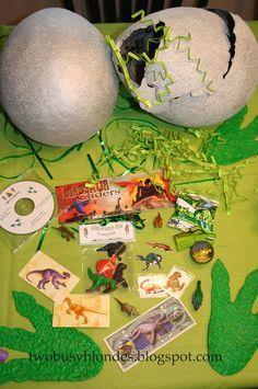 dinosaur treat bag ideas - Google Search