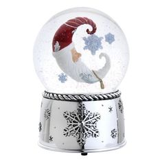 Reed & Barton 4315 Winter Dreams Snow Globe, 6.75-Inch, Plays Greensleeves