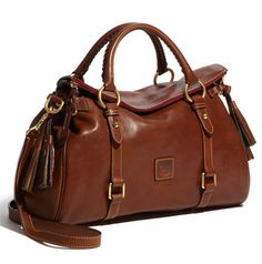Dooney & Bourke 'Florentine' Vachetta Leather Satchel = purse envy