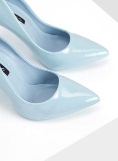Szpilki Precious Blue Heels