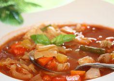 Weight Watchers Zero Points Garden Vegetable Soup ♥