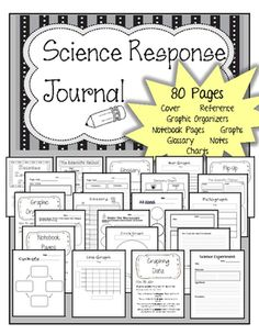 """GIVEAWAY!! Enter to win a """"Science Reflective Journal Notebook."""" This has been my most popular selling product, so I decided to give 7 of them away! The giveaway will last until Sunday 5/24. Enter to win before it's too late!! Thank you!"""