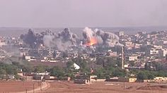 Islamic State of Iraq and the Levant - Coalition airstrike on ISIL position in Kobani, October 2014