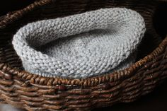 Buy Silvery grey newborn photography prop bowl/cocoon/papoose Ready to Ship by knitsandwhatknots. Explore more products on http://knitsandwhatknots.etsy.com