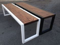 Custom Metal and Wood Fabricated Bench Made to by EmericksEmporium Welded Furniture, Iron Furniture, Resin Patio Furniture, Steel Furniture, Home Decor Furniture, Industrial Furniture, Furniture Projects, Rustic Furniture, Furniture Design