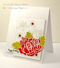 stamp pairing - love them together!    by: Gayatri @ http://scrapawayg3.blogspot.com