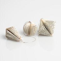 Folded Paper Ornament Set I