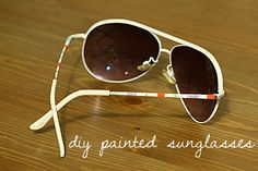 Design your own sunglasses! This will come in handy for my sunglasses obsession!!