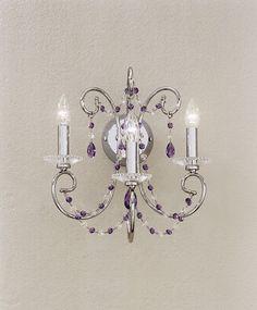 Swarovski Crystal wall lamp OR/608/A3.CR.SW.VI