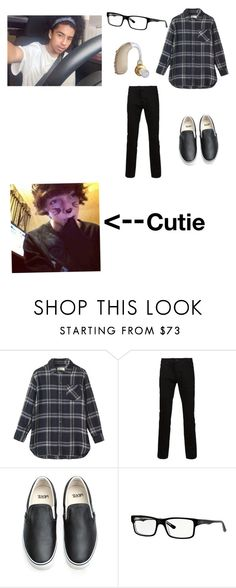 """""""Going on date with a cutie*blushes*-Levi"""" by crazy-wired-anon-girl ❤ liked on Polyvore featuring Toast, Vans and Ray-Ban"""
