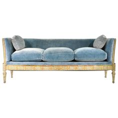 Early 19th Century Swedish Gustavian Sofa | From a unique collection of antique and modern sofas at https://www.1stdibs.com/furniture/seating/sofas/