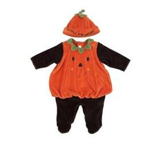 Pumpkin costume for babies and toddlers