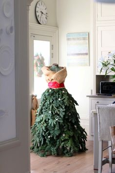 Fir Lady in the kitchen