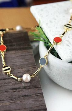 Kate Spade New York Spot The Shore Thin Collar Necklace #accessories  #jewelry  #necklaces  https://www.heeyy.com/suggests/kate-spade-new-york-spot-the-shore-thin-collar-necklace-multi/