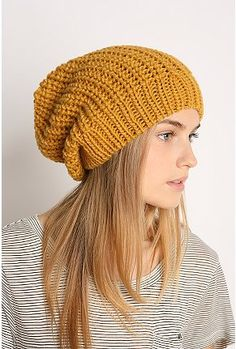 nothing better than a slouchy beanie! /urbanoutfitters