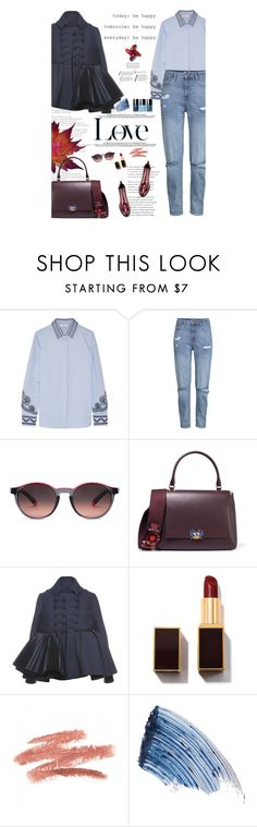 """Untitled #2501"" by amimcqueen ❤ liked on Polyvore featuring Tory Burch, H&M, Chanel, Etnia Barcelona, Anya Hindmarch, Dice Kayek, David Beckham, Sisley and Burberry"