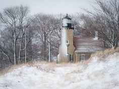 White River Light Station by ER Post, via Flickr