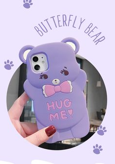 3d Iphone Cases, Girly Phone Cases, Iphone 11 Pro Case, Iphone Case Covers, Bear Cartoon, 3d Cartoon, Max Toys, Phone Accessories, Cool Things To Buy
