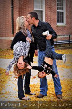 Love the new perspective on family photos