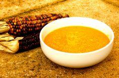 Domestic Sluttery: Sluttishly Vegan: Sweet Potato and Sweetcorn Soup