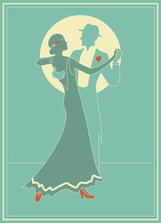 Art Deco Experiment by Tonielle Krisanski, via Behance