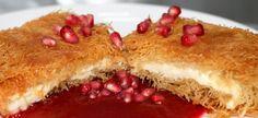 Shredded Phyllo Pastry with cheese (Kunafa bi Jibin)