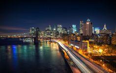 City Night Wallpaper 4k
