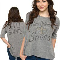 New Orleans Saints Ladies Tri-Blend T-Shirt... Perfect for gameday 0d712a13a