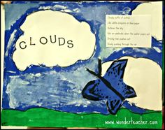 Arts Integrated Lesson - visual art, weather, writing