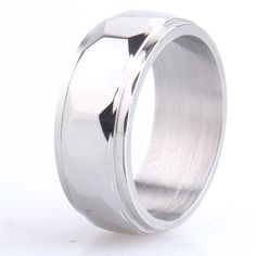 Find More Rings Information about 8mm silver section 316L Stainless Steel finger rings for men wholesale,High Quality steel tray,China ring flies Suppliers, Cheap ring retro from Chinese Jewelry Factory,Wholesale From Yiwu China on Aliexpress.com
