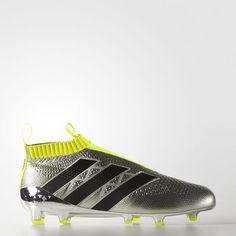 ACE 16 Purecontrol Primeknit Firm Ground Boots - Silver Firmes dede08adf198b