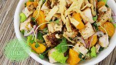 Oriental Chicken Salad : Homemade Oriental Dressing 오리엔탈 치킨샐러드